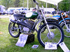 A Penton (owned by Dennis Bradley) in the motorcycle show.