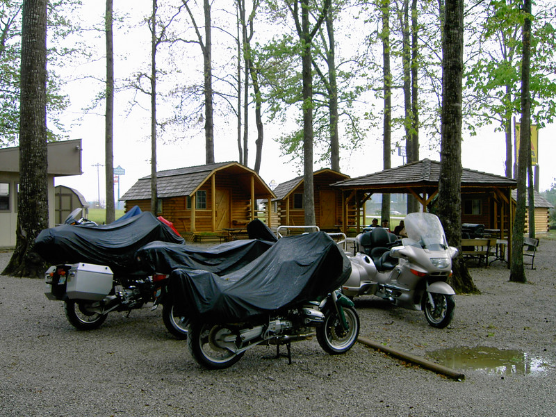 Thursday night's stay at the Manchester, TN KOA Kamping Kabins.