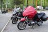 The bikes--well, my bike--at the KOA.