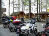 The bikes and the group at the Manchester, TN KOA.