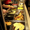 Friday morning breakfast at Shoney's in Manchester, TN.