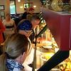 Friday breakfast at Shoney's in Manchester, TN.