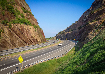 Sideling Hill Cut, I-68, western MD