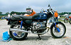 I liked the paint job on this R100/7 but I would have left off all the blue but that on the tank.