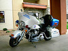 A Wisconsin State Trooper gave a seminar.  This is his bike.