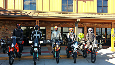 The 2016 KTM Rally an AZ, UT, WY, SD, CO road tour