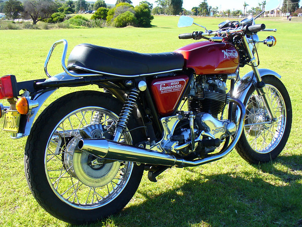 My Commando, 1974 850 Mk 111, last year