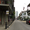 Old and New buildings in the French Qtr