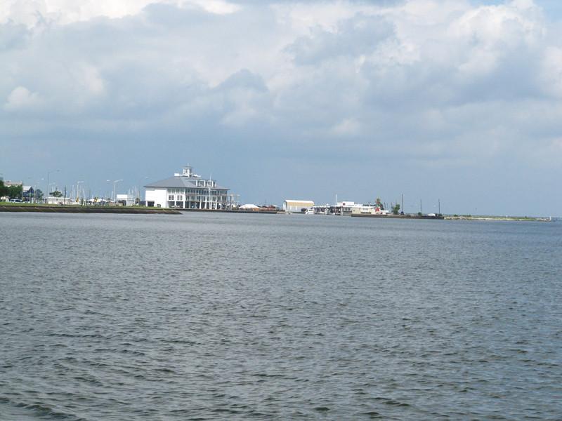 Lake Ponchartrain and the boat club.