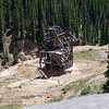 "A mine along the ""Million Dollar Highway"" near Ouray, Colorado."