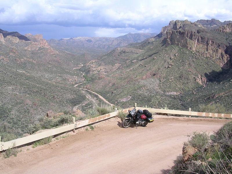 Apache Trail, just east of Phoenix