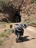 2nd Tunnel...bike upright...success, Phantom Canyon