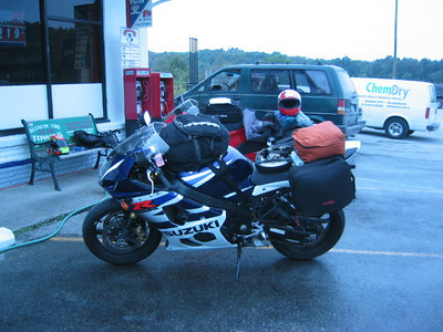 Sport Touring to deals gap on my gixxer 1k... Did a 1000 mile + day on this bike.. with woodcraft clip ons on. I'm hard core! phear me :)
