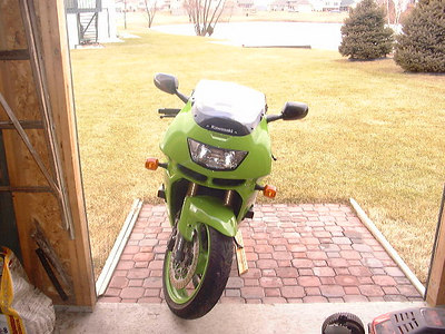 My first bike 97 ZX9r