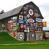 Barn/Gas station signage  <br /> <br /> Rothschild,<br /> Hwy 52, east of Wausau Wisconsin