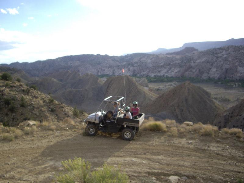 Up on the mesa near Paria river
