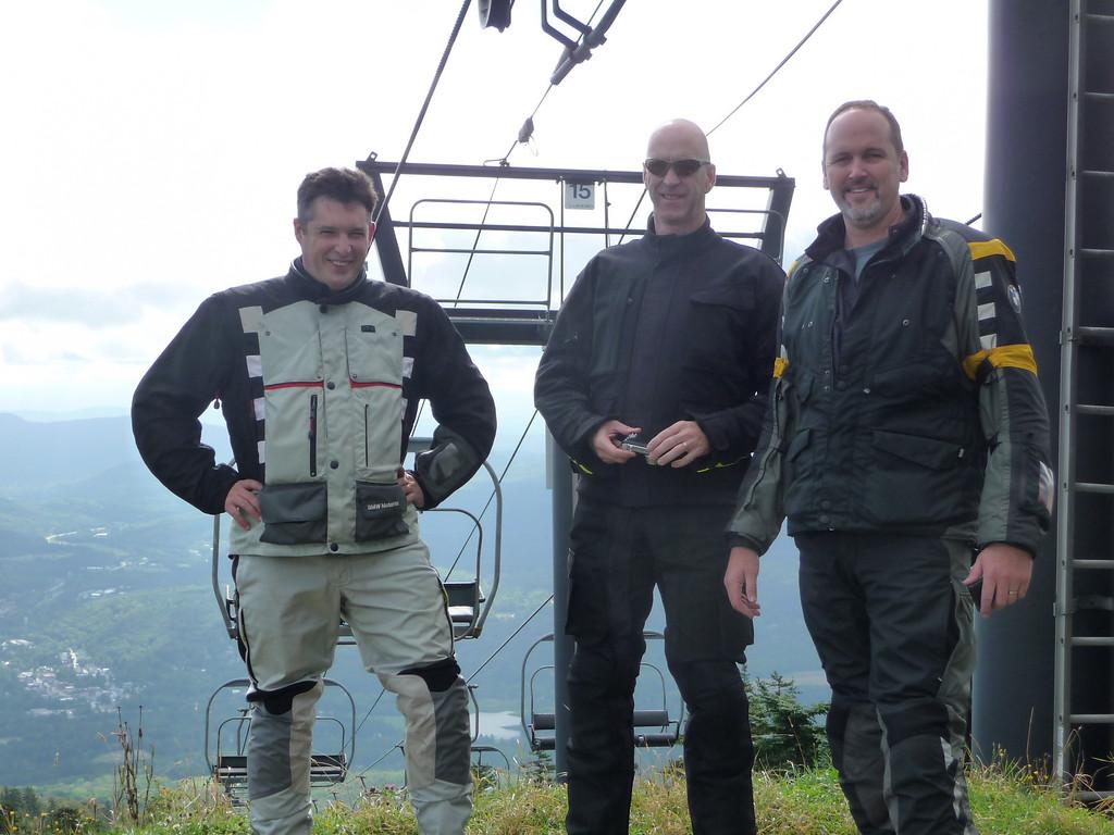 On top of Okemo Mt.
