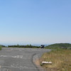 Reddish Knob parking area from entrance.