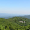Northwest view from Reddish Knob.