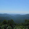 View on the way up the road to Reddish Knob.
