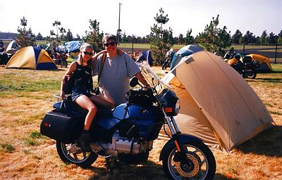 3f,RedmondRallyJuly21,2001,K75,Karen & daughter, Madison,WI