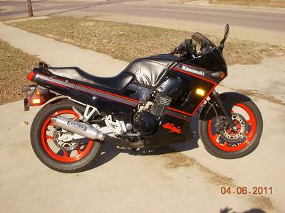 1989 Ninja 250 Exhaust
