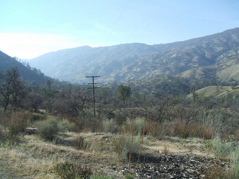 kern river valley 10 miles below LI dam