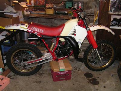 Restoring a 1986 Yamaha YZ125