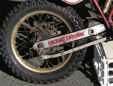 original rear brake assembly