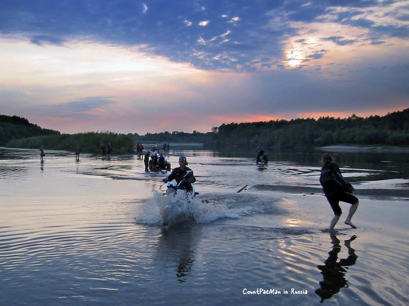 River riding -- a fav sport in Russia