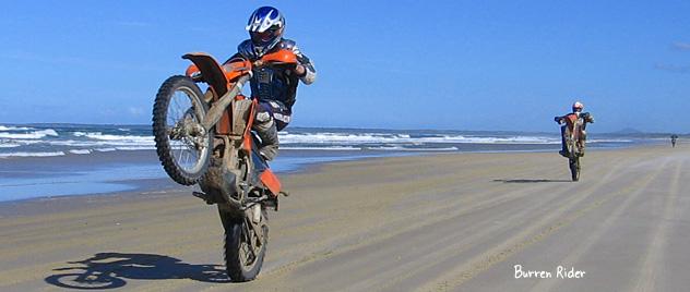 Burren Rider in Australia