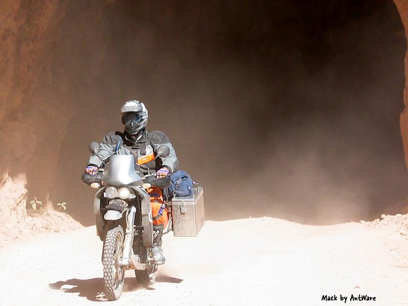Mack on his KTM, RIP, taken by AntWare
