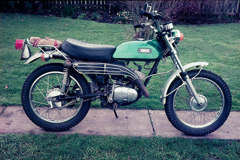 JP Yamaha CT1: We have one of these in Steve's shed awaiting a resto. It's still fires up and is rideable.