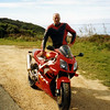 Pete de Koning on the GOR with his SP1, 2003.
