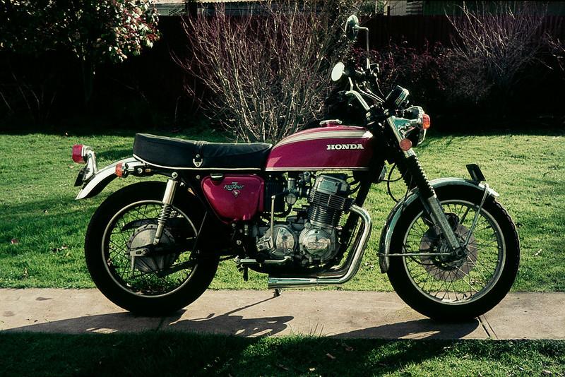 Steve's Honda CB750
