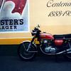 Jules Honda CB750 K4, prior to rebuild, 1988.