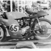 Surprisingly fast Yamaha XS1 racer. Prepared by Ken Chiron raced by Tom Kingston.