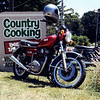 Andy's other XS 650 - burger run to Lavers Hill, summer 1989