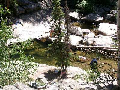 Diving / swimming hole East of Aspen