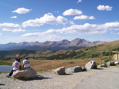 Cottonwood Pass, looking North West