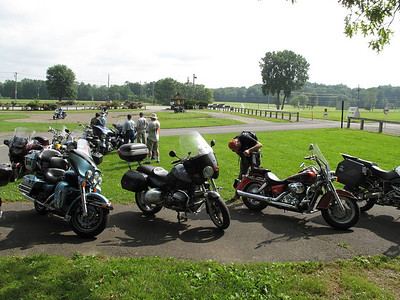Arrived at the Fairgrounds in Rhinebeck New York for the Vintage Bike meet (http://www.rhinebecknationalmeet.com/)