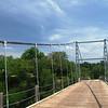 Regency Suspension Bridge. Built in 1939 and refurbished in 1999.