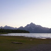 I made it to the Tetons just as the sun set. Ending day 3 and the CDR for the most part.