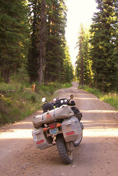 Ashtonn Flagg Ranch Rd...I would not have liked to have to follow someone on this supper dusty road.