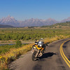 I bid farewell to the Tetons and embarked on an Iron Butt like ride home. I was planning on stopping in mid Kansas after 1000 miles but en-route I decided to press on and ride straight home totaling about 1300 miles in 24 hours.