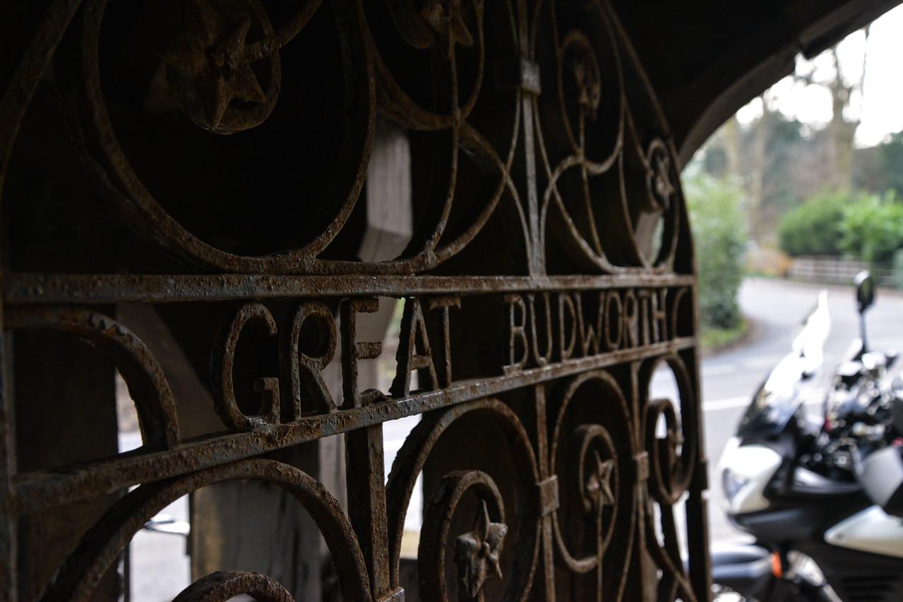 Great Budworth running pump