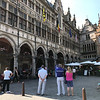 The Market square in Ypres. A live Orchestra while you have a coffee