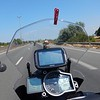 On the French Motorway