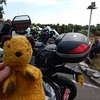 Sooty at the Cafe