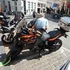 Bike specific parking in Brugge.